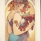Alphonse Mucha Art Serigraph