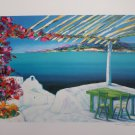 Signed and Numbered Fenech Lithograph Print Oceanview