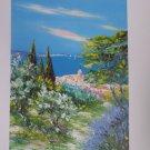 Marcel Belvisi St. Tropez Signed & Numbered Litho Print
