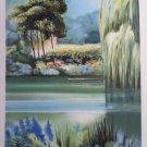 Rolf Rafflewski Le Grand Saule Pleureu S/N Litho Print