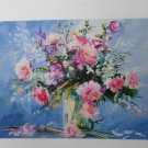 Roche Flowers in a Vase Signed and Numbered Lithograph