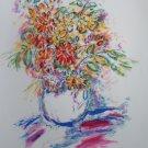 Wayne Ensrud Signed  Vase of Flowers