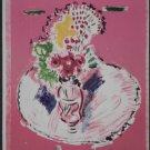 Wayne Ensrud Signed Proof Print Flowers in Pink Room