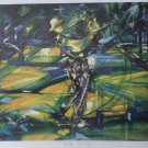 Duaiv Golf Swing Signed and Numbered Lithograph Print