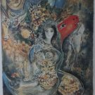 """MARC CHAGALL """"BELLA"""" Limited Edition Lithograph"""