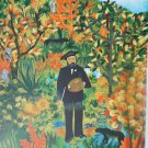 """Lee Weihmuller's """"Homage To Rousseau"""" Signed Limited Edition Serigraph"""