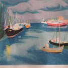 """GEORGES LAMBERT """"SEASIDE"""" Hand Signed Limited Edition Lithograph"""