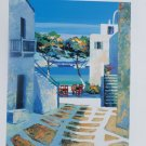 Kerfily Signed and Numbered Mykonos II Serigraph Print