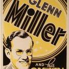 4 jazz concert posters Frank Sinatra Glenn Miller Billie Holiday