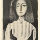 Picasso Young Woman in a Striped Blouse