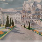 Georges LAMBERT French Mansion SIGNED Original Lithograph