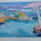 """GEORGES LAMBERT """"HARBOR"""" Hand Signed Limited Edition Lithograph"""