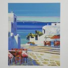 Kerfily Signed and Numbered Mykonos III Serigraph