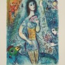 Marc Chagall Circus Fan Dancer