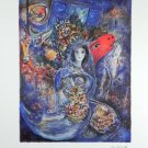 MARC CHAGALL (After) Bella Print LE 500