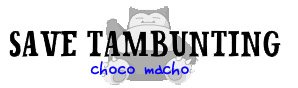 Save Tambunting Sticker