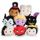 Disney Villains Disney Store Mini Tsum Tsum (SET OF 8)