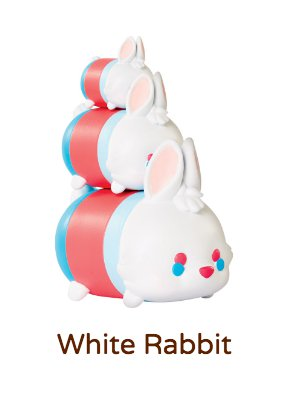 "White Rabbit Tsum Tsum Vinyl Figurine #139 (size ""large"")"
