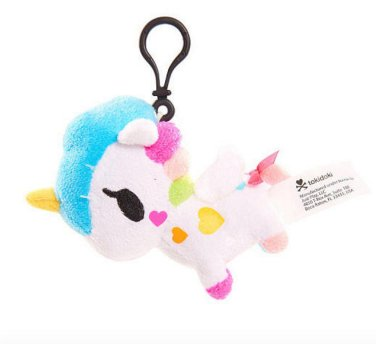 Neon Star by Tokidoki Keychain Plush - Bella