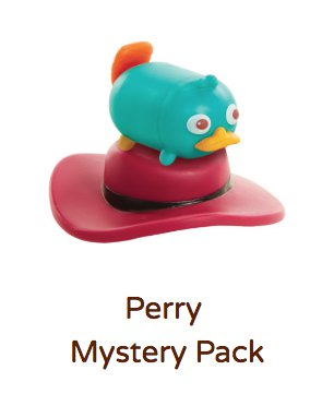 Perry Tsum Tsum Vinyl Mystery Stack Pack (Series 4)