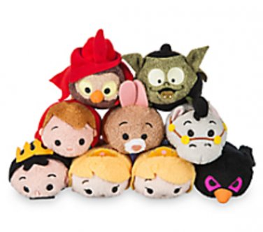 Sleeping Beauty Disney Store Mini Tsum Tsum SET OF 9
