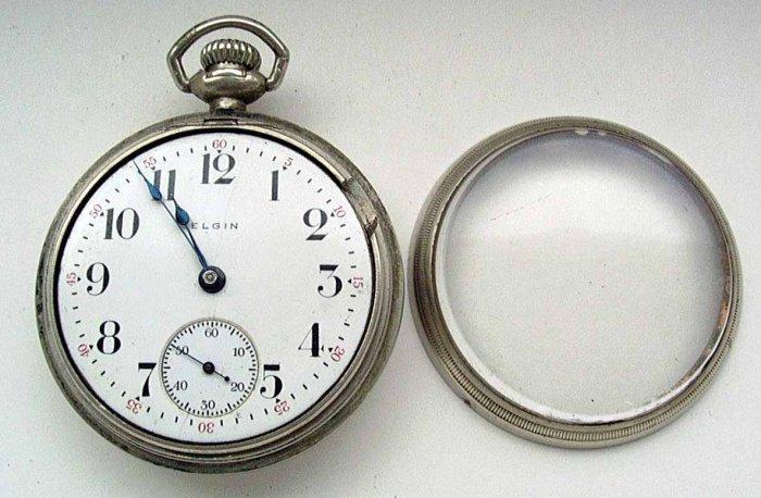 Elgin Pocket Watch 1915 Swing Out Case (#164)