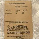 Waltham Main Spring Sandsteel (ref#323)
