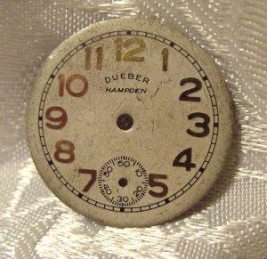 Deuber Hampden Dial  4/O size Metal  (ref.#376)