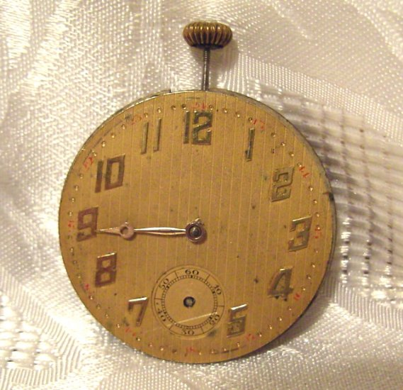 Muralto Watch Company Pocket Watch Movement Swiss (ref.#390)