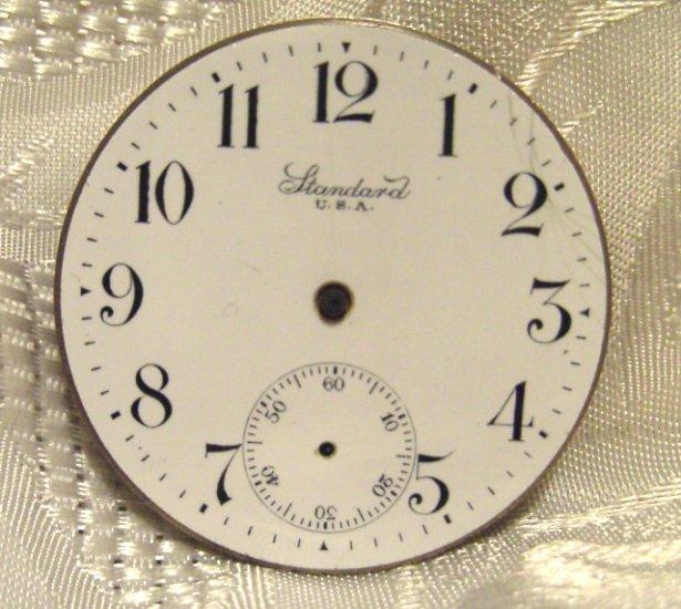 New York Standard Pocket Watch Movement 16 Size 7Jewels  (ref.#576)