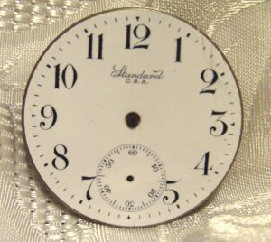 New York Standard Pocket Watch Movement 16 Size 7Jewels  (ref.#576)