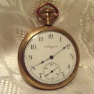 Elgin Pocket Watch 3 Finger Bridge 1902 16 Size 15 Jewels Gold Filled B&B Case(ref.#690)