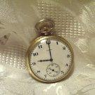 Elgin Pocket Watch 15 Jewels 12 Size Gold Filled  Keystone J Boss Case (ref.#692)