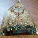 Enormous Energy Orgonite With Merkaba On The Apex