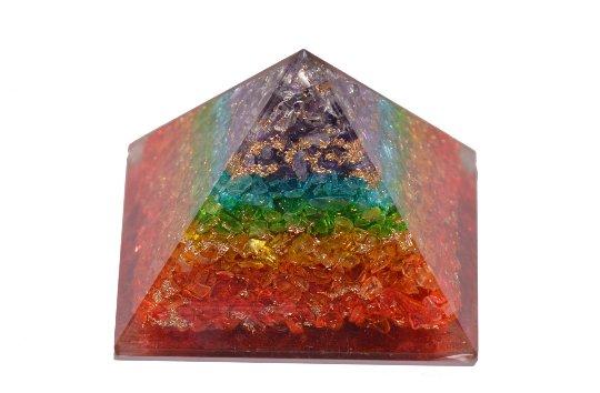 Seven Chakra Orgonite - Supreme Quality