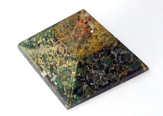 Green Aventurine Orgonite - with minor manufacturing Defects- Non Broken Pieces