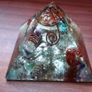 Enormous Energy orgone pyramid With Magic Ball - Antique Piece