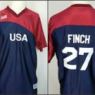 Jennie Finch #27 USA ASA Fastpitch Softball Sewn Women's Jersey - L Large