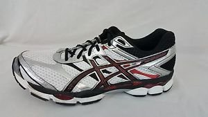 Asics GEL-Cumulus 16 FluidRide Men's Running Shoes White Black Red T440N Size 15