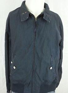 Paul Smith Jeans Black Cotton Zip Up Basic Jacket Coat - L Large