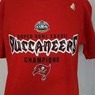 NEW Tampa Bay Buccaneers Super Bowl Champions XXXVII 37 Shirt - M Medium