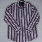 Nat Nast Luxury Originals Mens Long Sleeve Button Front Cotton Shirt Flip Cuff