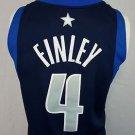 Dallas Mavericks Mavs Michael Finley #4 Stitched Nike NBA Blue Jersey - 56 3XL