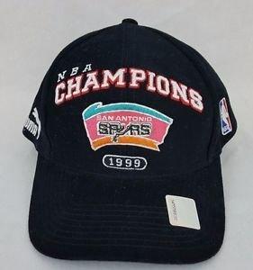 San Antonio SPURS 1999 NBA Champions Locker Room PUMA Cap Adjustable Hat