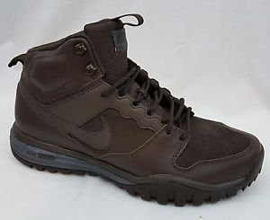 New Men's Nike Dual Fusion Mid Hills Brown Hiking Boots 695784 220 Size 11