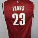 Cleveland Cavaliers Lebron James #23 NBA Basketball Adidas Jersey Youth Large