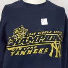 New York Yankees 1998 World Series Champions Sweatshirt Lee Sport Size Medium