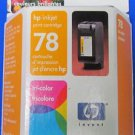 GENUINE NEW HP 78 C6578D Tri-Color Ink Cartridge w/ FREE SHIPPING