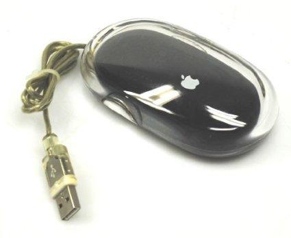 Apple Black Pro Mouse M5769 - USB Optical Mac Pro Mouse Apple Black /Clear