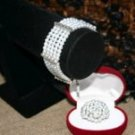 thick pearl bracelet and ball pearl ring